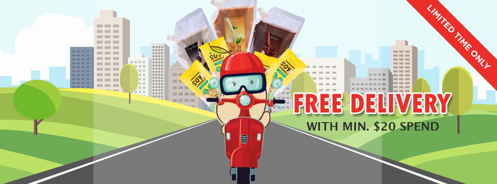 Home Delivery 20 Free