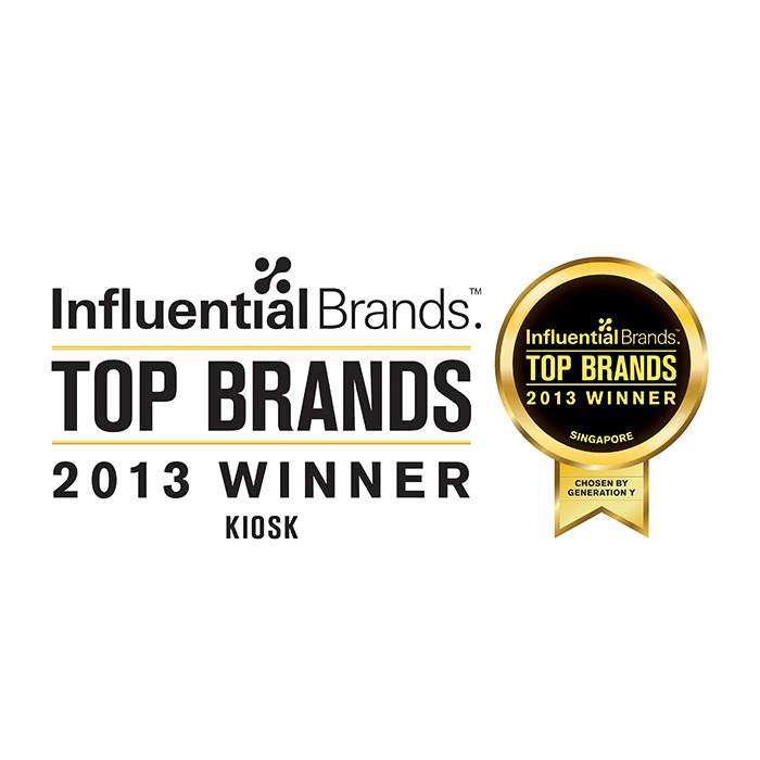 2013 Influential Brand Award