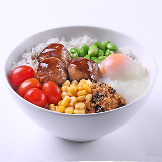 Rice Bowl (Chicken Meatball)