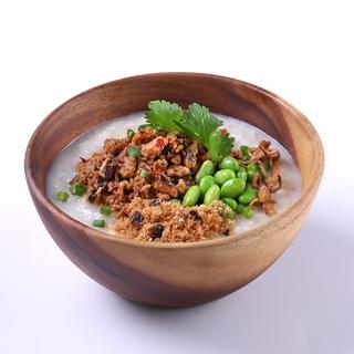 Soy Porridge (Spicy Minced Chicken with Mushroom)