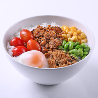 Rice Bowl (Spicy Minced Chicken)