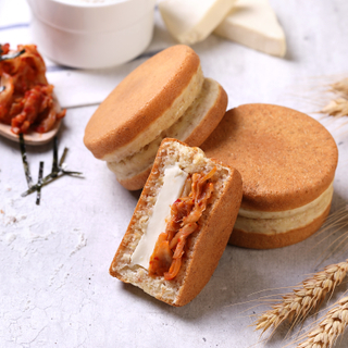 Cheesy Wholemeal Kimchi Mayo Pancake