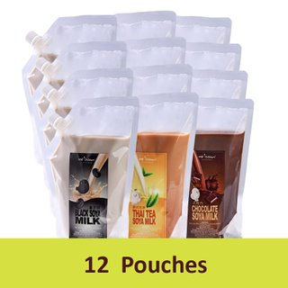 Bundle of 12 (Soya Milk Pouch)