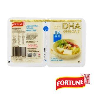 Fortune Japanese Silken Tofu w Omega 3 DHA