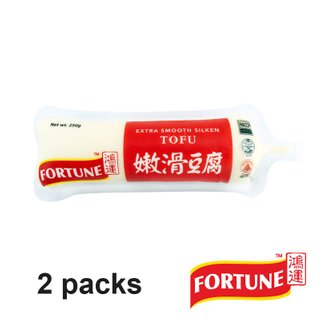 Fortune Extra Smooth Silken Tofu 2 Packs