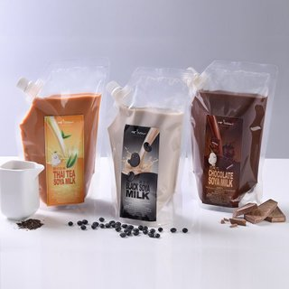 Bundle of 4 (Soya Milk Pouch)