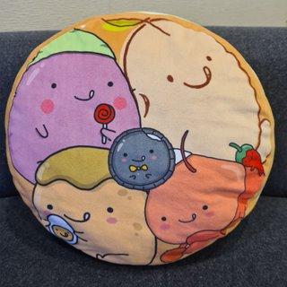 Mr Bean Pancake Cushion